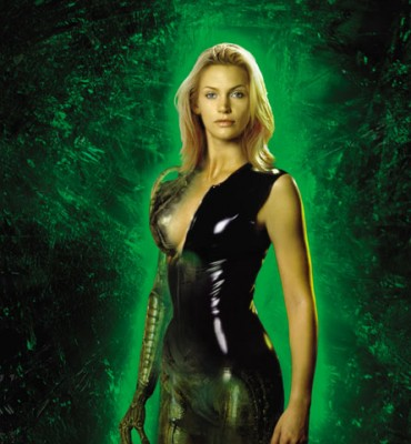 Natasha Henstridge on Species.
