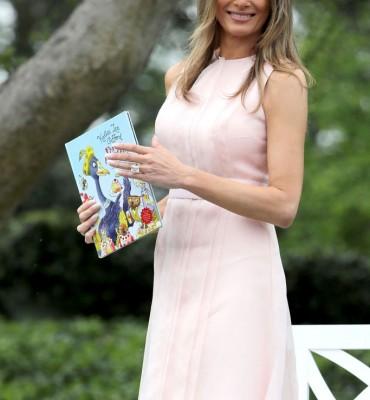 President Trump And Melania Trump Host White House Easter Egg Roll
