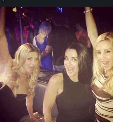 Brandi Glanville, Kyle Richards and Camille Grammer