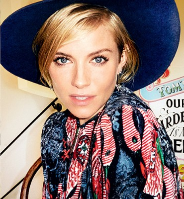 Sienna Miller's now on her second act, trying to be cool about it, but inside, she's dancing, she tells Vogue
