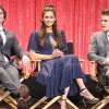 Ian Somerhalder, Nina Dobrev and Paul Wesley of 'The Vampire Diaries'