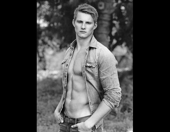 Alexander Ludwig and Abercombie & Fitch