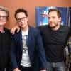 Kurt Russell, James Gunn, Chris Pratt and Zoe Saldana of