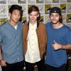 Ki Hong Lee, Thomas Brodie-Sangster, and Dylan O'Brien