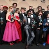 'Stranger Things' cast members at the 2017 SAG Awards