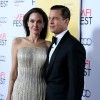 Angelina Jolie and Brad Pitt attend the the opening night gala premiere of 'By the Sea' during AFI FEST 2015 at TCL Chinese 6 Theatres on Nov. 5, 2015 in Hollywood, California