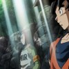 Goku tries to recruit Lapis Android 17 in the Dragon Ball Super