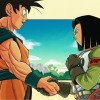 Goku vs Android 17 in
