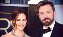 Ben Afflick and Jennifer Garner in Happier Times