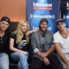 Alexander Ludwig, Katheryn Winnick, Travis Fimmel and Gustaf Skarsgard