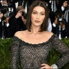 Fashion model Bella Hadid at thet MET Gala 2017