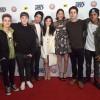 Dylan Sprayberry, Cody Christian, Tyler Posey, Arden Cho, Shelley Hennig, Dylan O'Brien and Khylin Rhambo