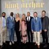 Kingsley Ben-Adir, Djimon Hounsou, Poppy Delevingne, Annabelle Wallis, Charlie Hunnam, director Guy Ritchie, and Eric Bana