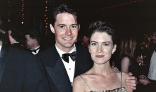 Kyle MacLachlan and Lara Flynn Boyle