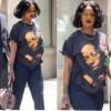 Rihanna wears Buju Banton t-shirt