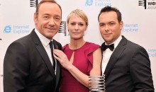 Kevin Spacey, Robin Wright and Dana Brunetti