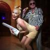 Hugh Hefner and Crystal Harris