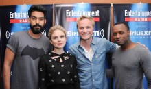 Rahul Kohli, Rose McIver, David Anders and Malcolm Goodwin of