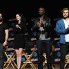 Charlie Cox, Krysten Ritter, Mike Colter and Finn Jones of