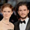 Rose Leslie and Kit Harington of