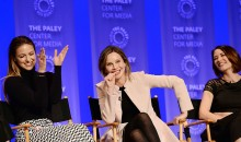Melissa Benoist, Calista Flockhart, and Chyler Leigh