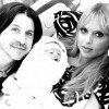 Rachel Zoe, husband Rodger Berman and their second child Kaius Jagger Berman,