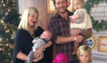 Tori Spelling, Dean McDermott, and their four kids