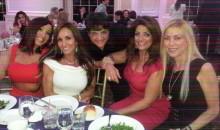 Kathy Wakile and friends