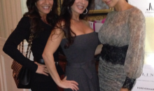 Amber Marchese with Nicole Mauriello and Teresa Aprea