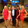 Shannon Beador, Tamra Barney, Andy Cohen, Heather Dubrow and Vicki Gunvalson