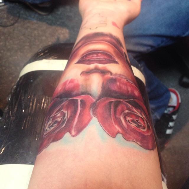 Kail Lowry tattoo