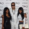 French Montana with Khadijah and Malika Haqq
