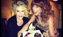 Joan Rivers and Kathy Griffin