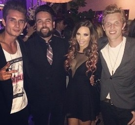 James Kennedy, Mike Shay and Scheana Marie