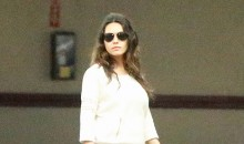Mila Kunis Flaunts a Slim bod eight weeks after giving birth