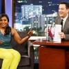 Mindy Kaling guests on Jimmy Kimmel Live!
