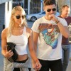 Zac Efron and Sami Miró at Tailwaggers with their new puppy