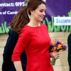 Kate Middleton's baby bump hidden by gorgeous red dress; Royal looks radiant at Children's Hospice Appeal Launch