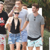 Miley Cyrus, Patrick Schwarzenegger Hit the Pool After Partying in Miami Until 6 AM
