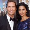 Matthew McConaughey and wife Camila Alves