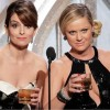 Tina Fey and Amy Poehler at 2015 Golden Globes Awards