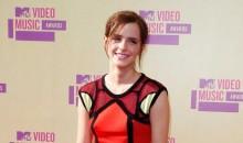 Emma Watson at the 2012 MTV VMAs
