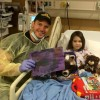 Chris Pratt takes time off from guarding the galaxy to visit Emma, who had beaten cancer!