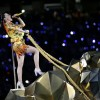 Katy Perry performing at 2015 Super Bowl halftime show (NBC)