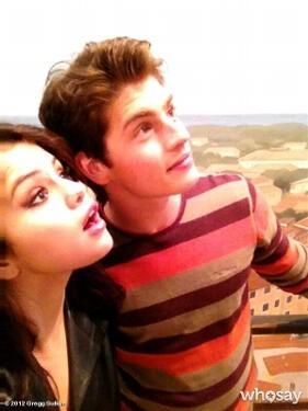 Selena Gomez and Gregg Sulkin