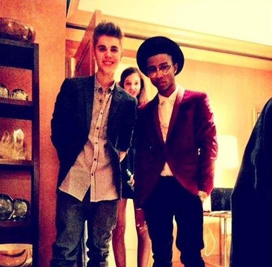 Justin Bieber Lil Twist and Barbara Palvin