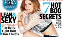 Kate Mara seductively poses for Women's Health