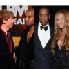 Jay-Z and Beyonce not happy with Kanye West Antics at the Grammy's