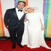 The newly engaged couple: Taylor Kinney and Lady Gaga!