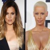 Khloe Kardashian and Amber Rose in a Twitter Feud